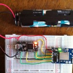teensy 3.0 micro controller with CC3000 breakout board