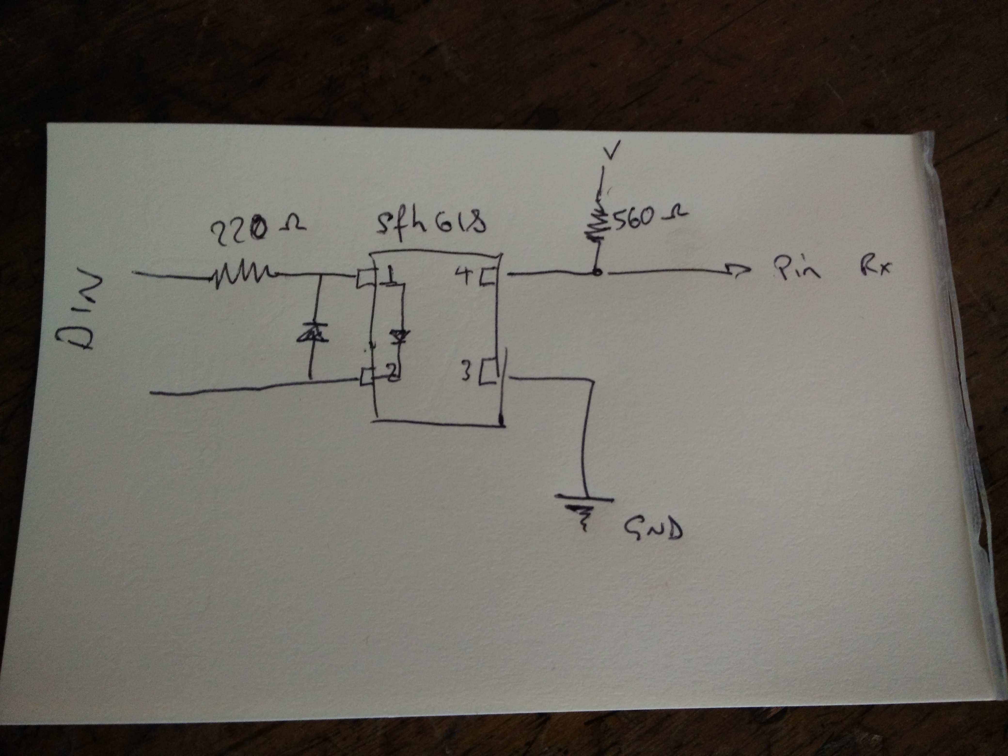 teensy 3 midi din to cv out orchardelica blog here is the wiring diagram for the opto coupler